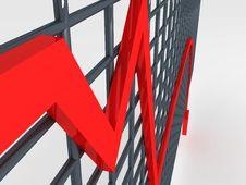Free Loss Graph Stock Photo - 6499100