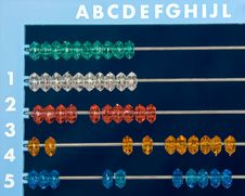 Free Colored Abacus Stock Images - 6499184