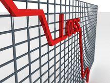 Free Decreasing Graph Stock Photos - 6499213