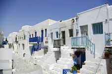 Free Folegandros - Castel Royalty Free Stock Image - 6499216