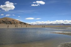 Free Tibet S Nam Co Lake Stock Image - 6499231