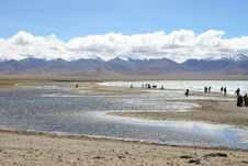 Free Tibet S Nam Co Lake Stock Photo - 6499350
