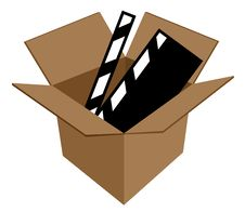 Free Film In Cardboard Box Stock Photos - 6499533