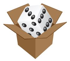 Free `Game` In Cardboard Box Royalty Free Stock Photo - 6499635