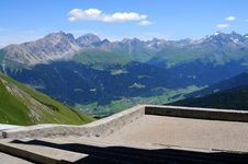 Free View From Swiss Monastery Royalty Free Stock Photo - 6499885