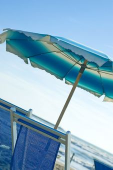 Free Close Up Of Beach Chair Stock Photography - 6499902