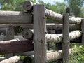 Free Wood Fence Corner Stock Photos - 650723
