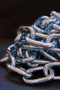 Free Chain Pile Royalty Free Stock Photography - 656117