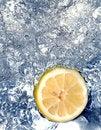 Free Lemon In Water Royalty Free Stock Photos - 658258