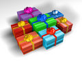 Free Present Boxes Royalty Free Stock Photo - 658655