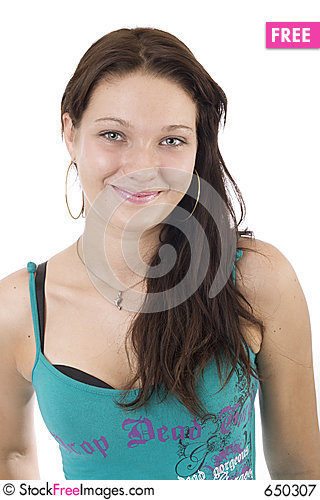 Young lady portrait 1 Stock Photo