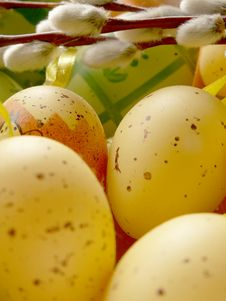 Free Easter Eggs Royalty Free Stock Photo - 650765