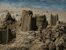 Free Sandcastle Stock Image - 651361