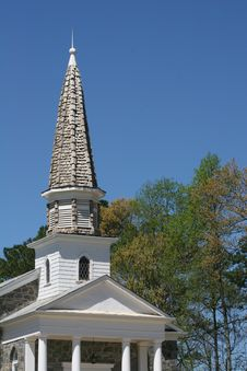 Free Shingle Steeple Royalty Free Stock Image - 651656