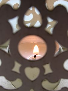 Free Antique Candle Holder Stock Photo - 651840