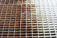 Free Rusty Grid Stock Image - 652281