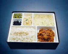 Free Korean Food Royalty Free Stock Photos - 653008