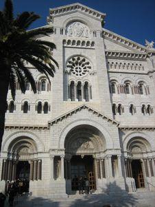 Free Catholic Church In Monaco Royalty Free Stock Images - 653329