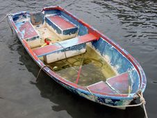Free Abandoned Boat Stock Image - 654991