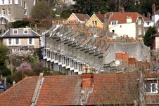Free Terraced And Roofs Royalty Free Stock Photos - 655068