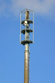 Free Communication Tower Royalty Free Stock Images - 655439