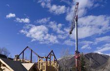 Free House And Crane Stock Photo - 655650