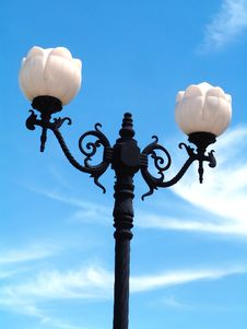 Free Street Lamp Royalty Free Stock Images - 656499