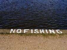 Free No Fishing Stock Photography - 656882