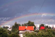 Free Rainbow After The Rain Stock Photos - 657063