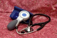 Free Aneroid Spygmomanometer Stock Image - 657211