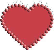 Free Cherry Heart Stock Photos - 657303