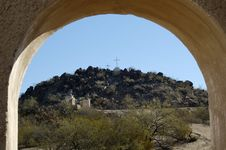 Free Mission San Xavier Del Bac Stock Images - 657494