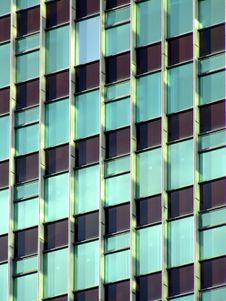 Free Skyscraper Detail In The Sun Stock Image - 657601