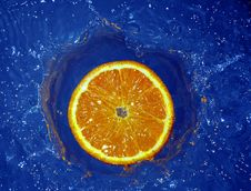Free Orange In Water Stock Images - 658194
