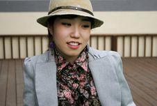 Free Korean Woman Stock Photography - 658472