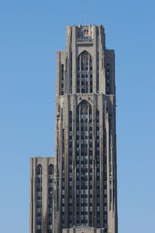 Free The Cathedral Of Learning Royalty Free Stock Photography - 658547