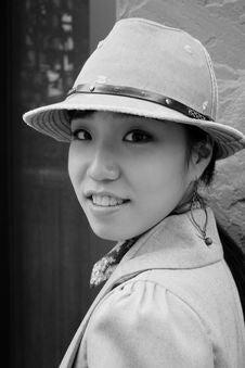 Free Pretty Korean Girl Stock Photography - 659122