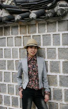 Free Stylish Asian Girl Stock Image - 659181