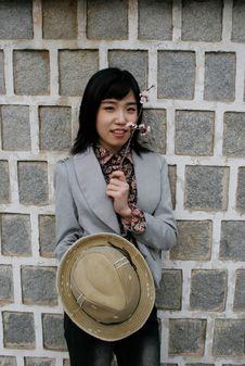 Free Stylish Asian Girl Stock Photos - 659183