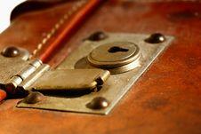 Free Lock Suitecase Stock Photos - 659223
