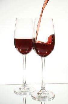 Free Wine Glass Stock Image - 659261