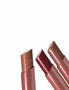 Free Three Lipsticks Royalty Free Stock Images - 659549