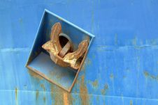 Free Anchor Of Big Ship Royalty Free Stock Photography - 659957
