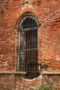 Free Ancient Brick Wall With Window And Iron Lattice Royalty Free Stock Photo - 6500205