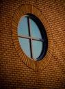 Free Circular Brick Window Stock Images - 6503404