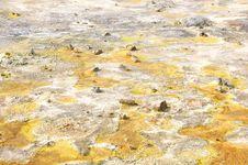 Free Colorful Suplhur Landscape Stock Photo - 6500530
