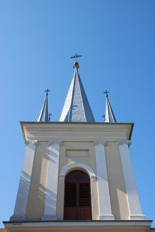 Free Church Tower Royalty Free Stock Photography - 6501057