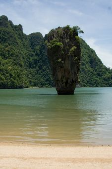 Free James Bond Island Stock Photography - 6501172