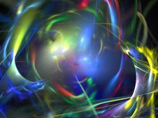 Free Colorful Abstract Fractal Background Stock Photos - 6501383