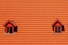 Free Orange Roof Tile In Carpathians Castle Royalty Free Stock Image - 6501856